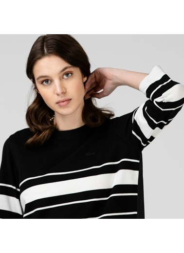 Lacoste Kadın Truvakar Kollu Elbise EF0106.06S Siyah